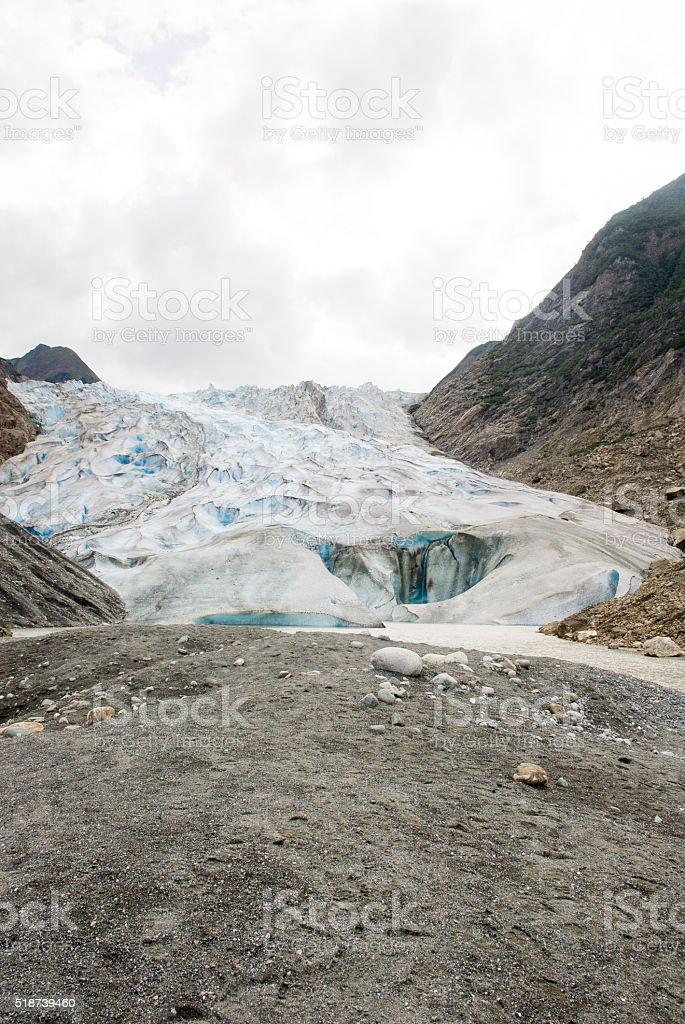 Alaska - Davidson Glacier - The Glacier Point Wilderness Safari stock photo