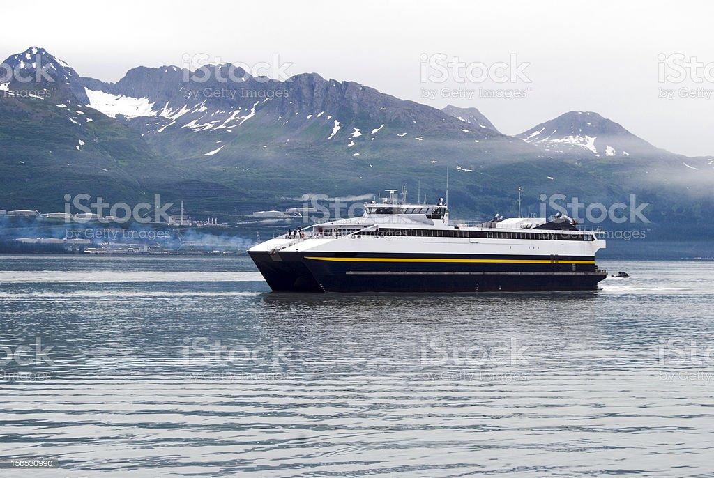 Alaska ferry royalty-free stock photo
