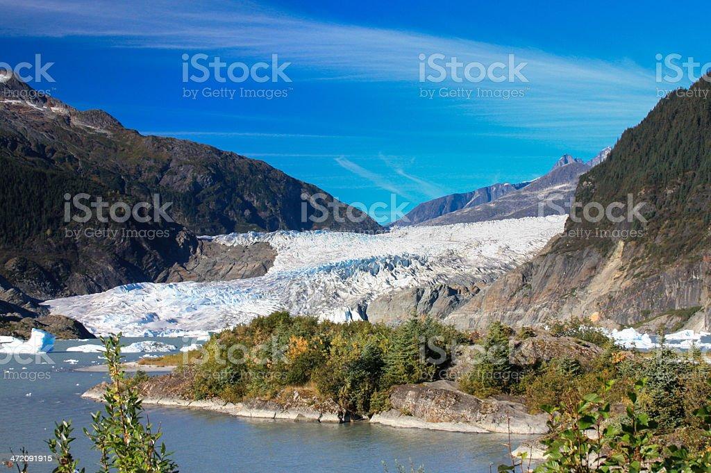 Alaska Glacier stock photo