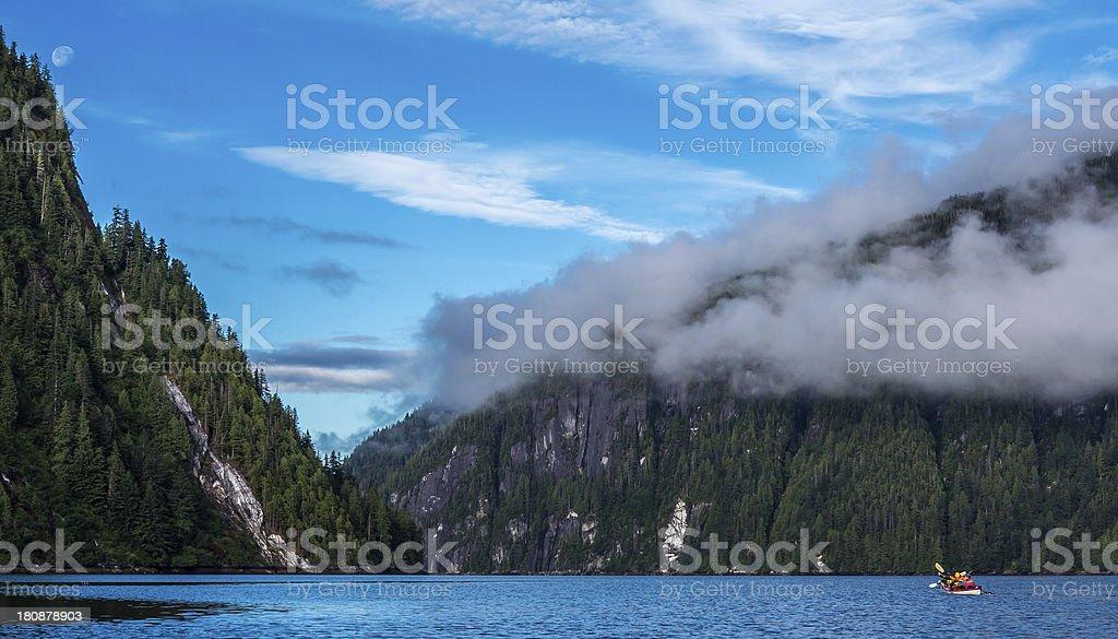 Alaska - Heading out of Rudyard Bay royalty-free stock photo