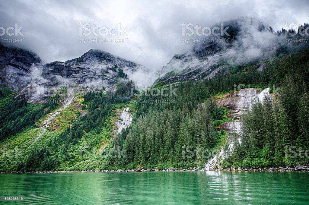 Alaska Landschaft, Inside Passage, Alaska, USA.jpg – Foto