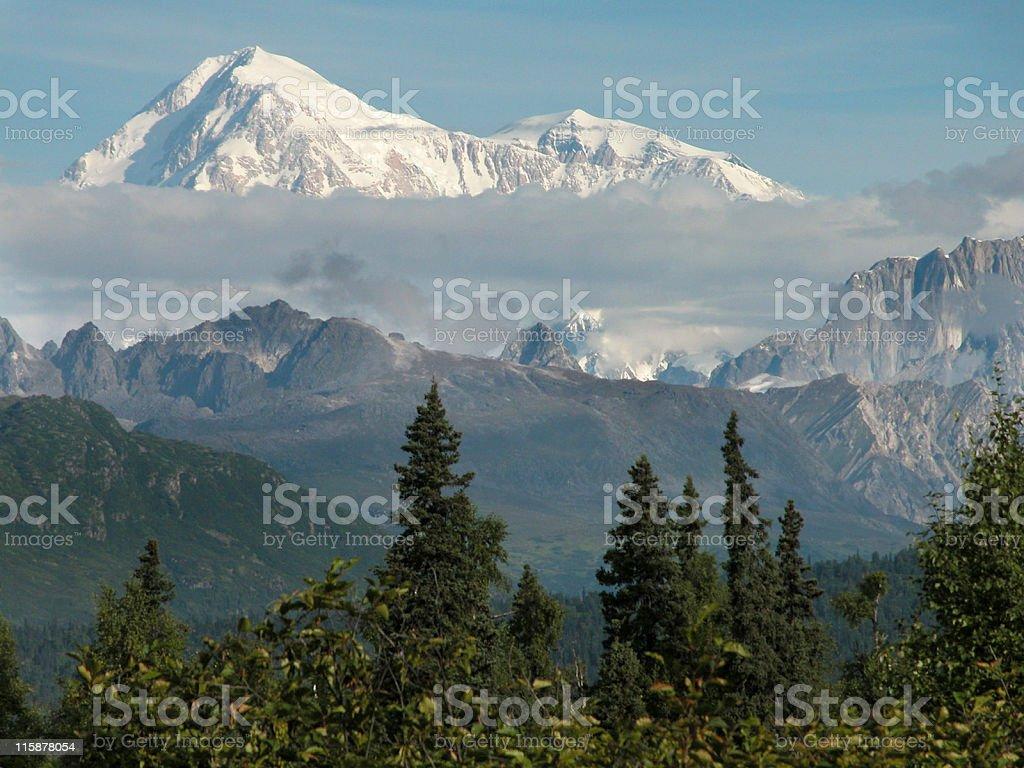 Alaska Mt Mckinley stock photo