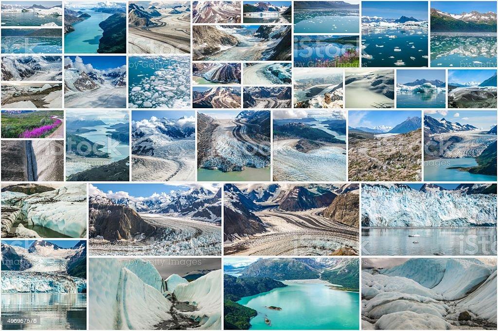 Alaska national parks stock photo