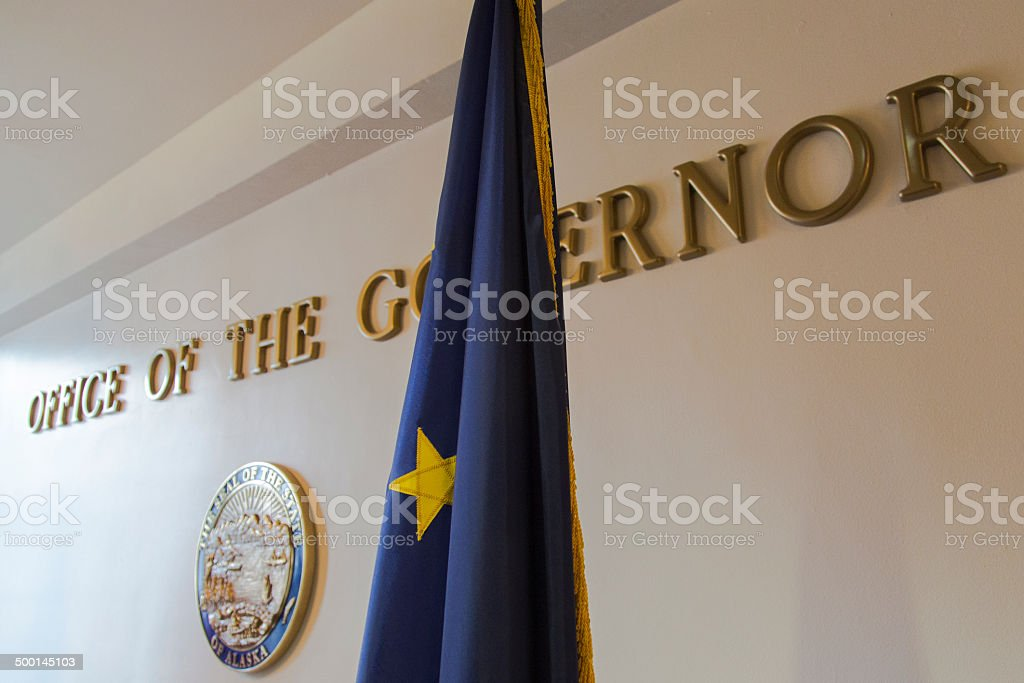 Alaska office of the governor stock photo