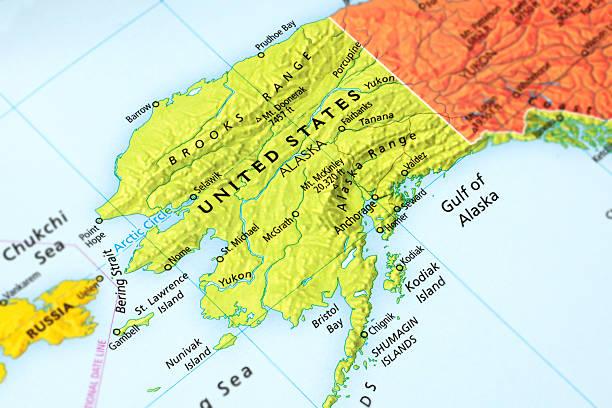 alaska - alaska us state stock photos and pictures