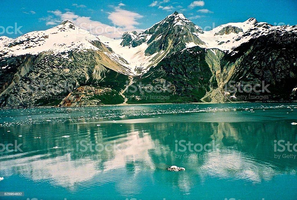 Alaska Reflections stock photo