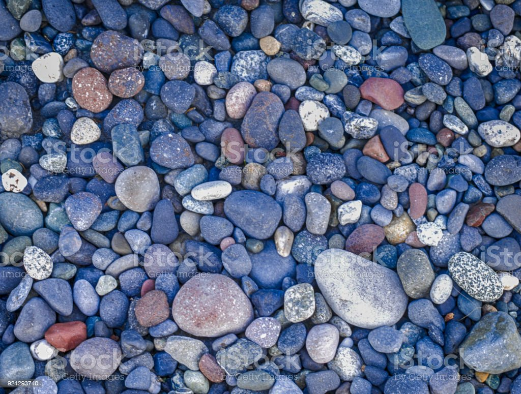 Alaska- River Rock- Backgrounds stock photo