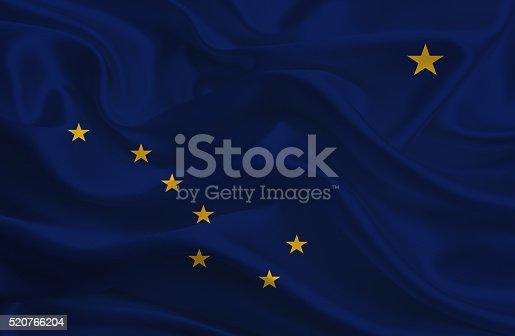 istock Alaska State Flag 520766204