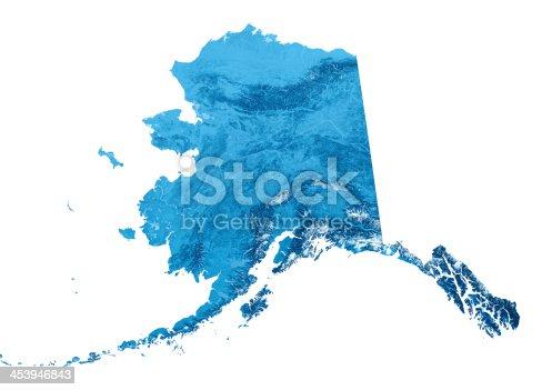 173169385istockphoto Alaska Topographic Map Isolated 453946843