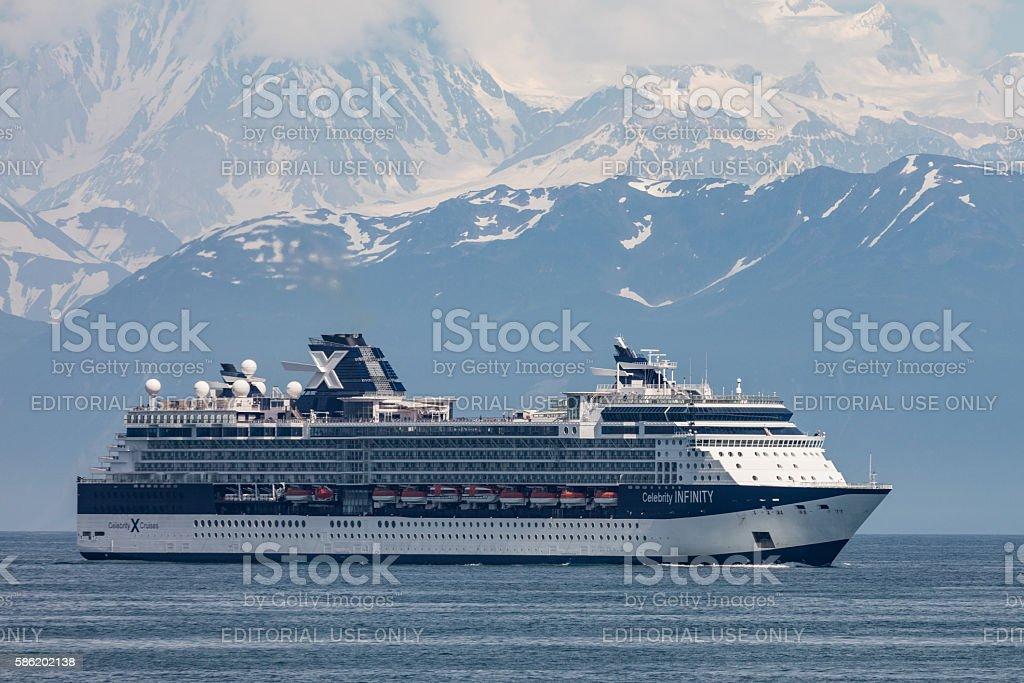 Alaskan Cruise stock photo