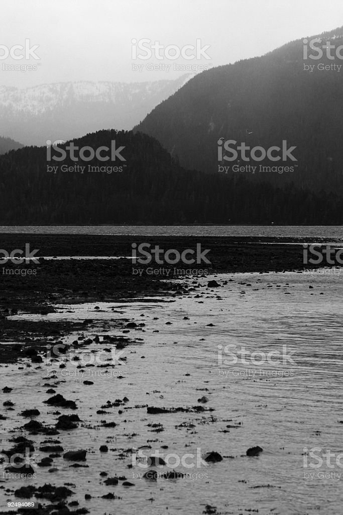 Alaskan Fjord royalty-free stock photo