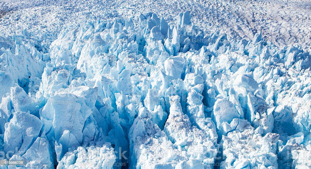 Alaskan Glacier Close up stock photo