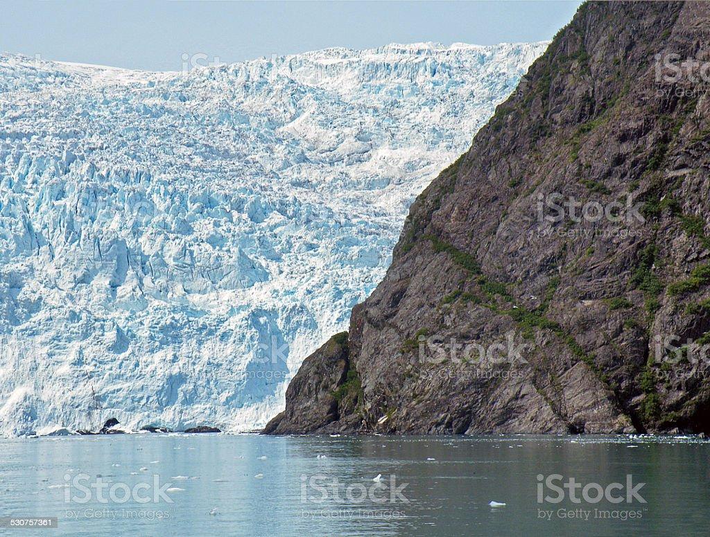 Alaskan iceberg stock photo