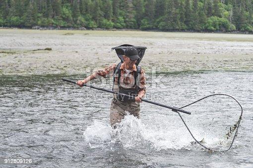 istock Alaskan Net Fishing! 912809126