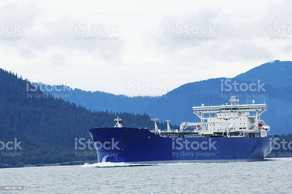 Alaskan oil royalty-free stock photo