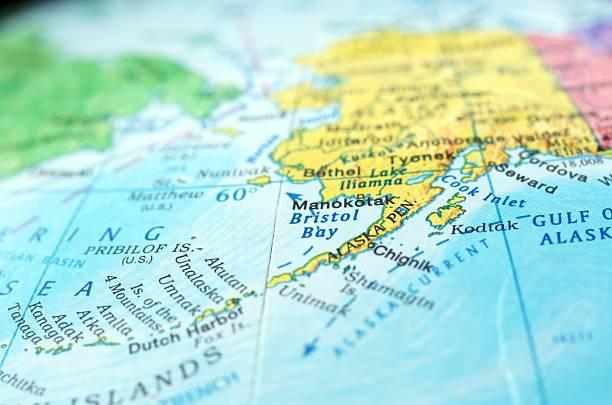 Royalty Free Alaska Map and Stock s iStock
