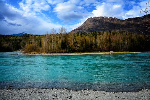 istock Alaskan River Landscape 811114066