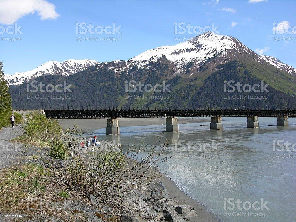 Alaskan Scenery royalty-free stock photo