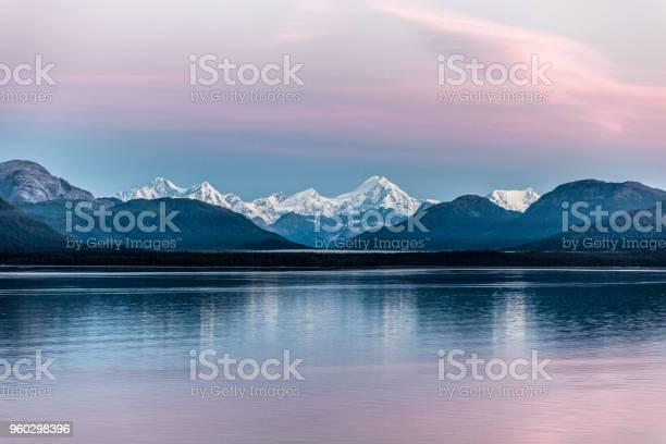Alaskas inside passage glacier bay np at dawn summer picture id960298396?b=1&k=6&m=960298396&s=612x612&h=jpftp8wexwqwyonrvfg34jxtm8acjk1w61e1isp nb4=