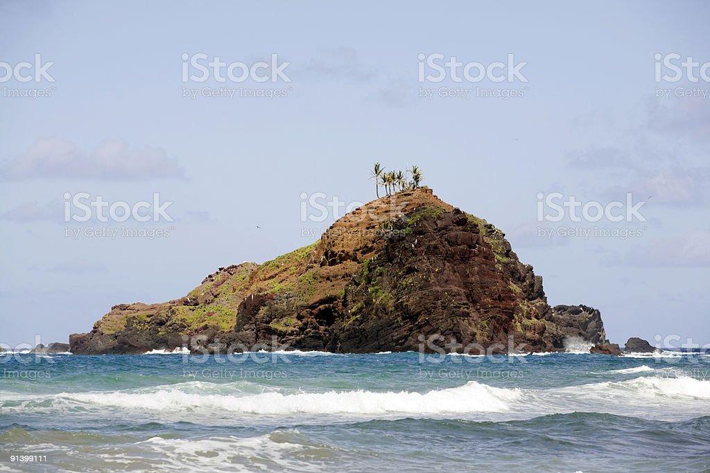 Alau Island stock photo