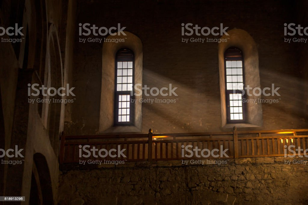 Alaverdi ortodox monastery stock photo