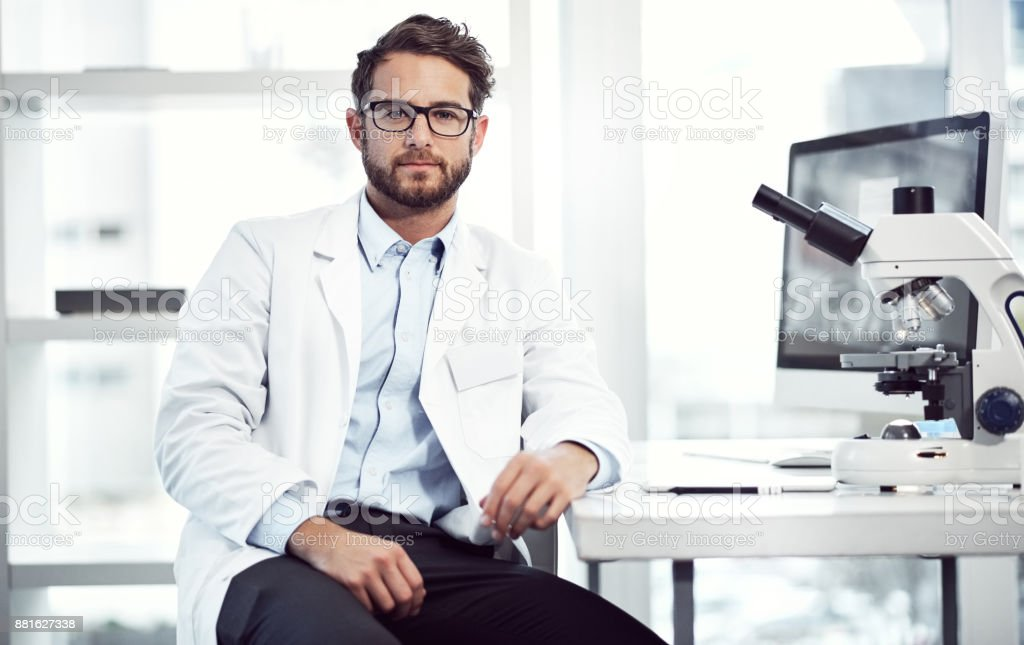Alaways looking professional stock photo