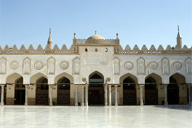 Al-Azhar-Moschee in Kairo, Ägypten – Foto