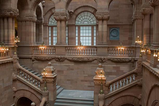 Albany Capitol stock photo