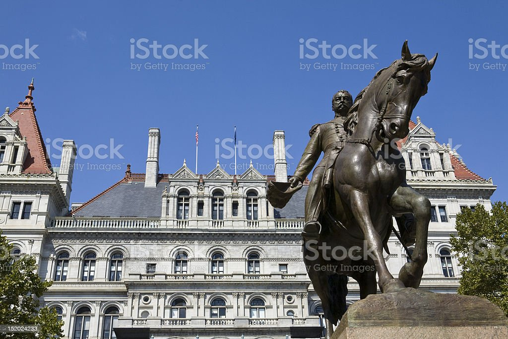 Albany, New York royalty-free stock photo