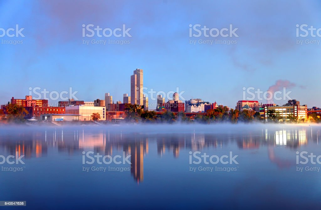 Albany, New York stock photo