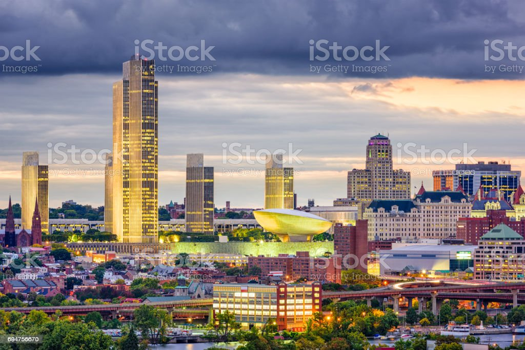 Albany, New York, USA stock photo