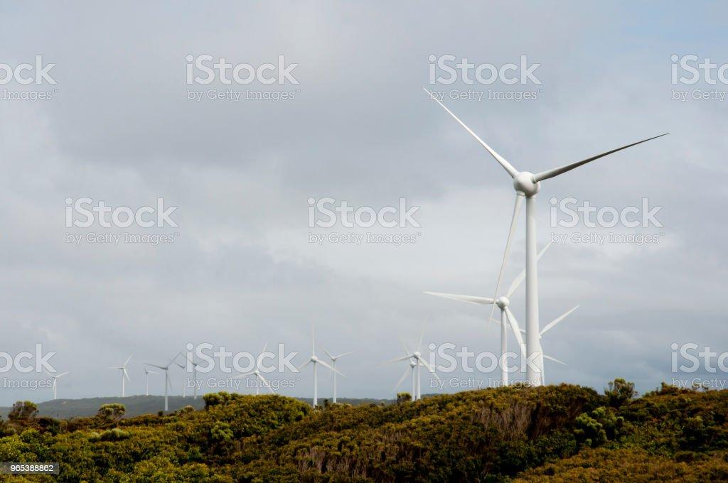 Albany Wind Farm zbiór zdjęć royalty-free