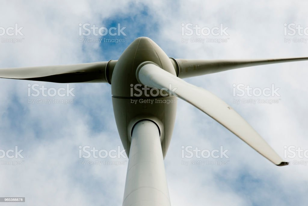 Albany Wind Turbine zbiór zdjęć royalty-free