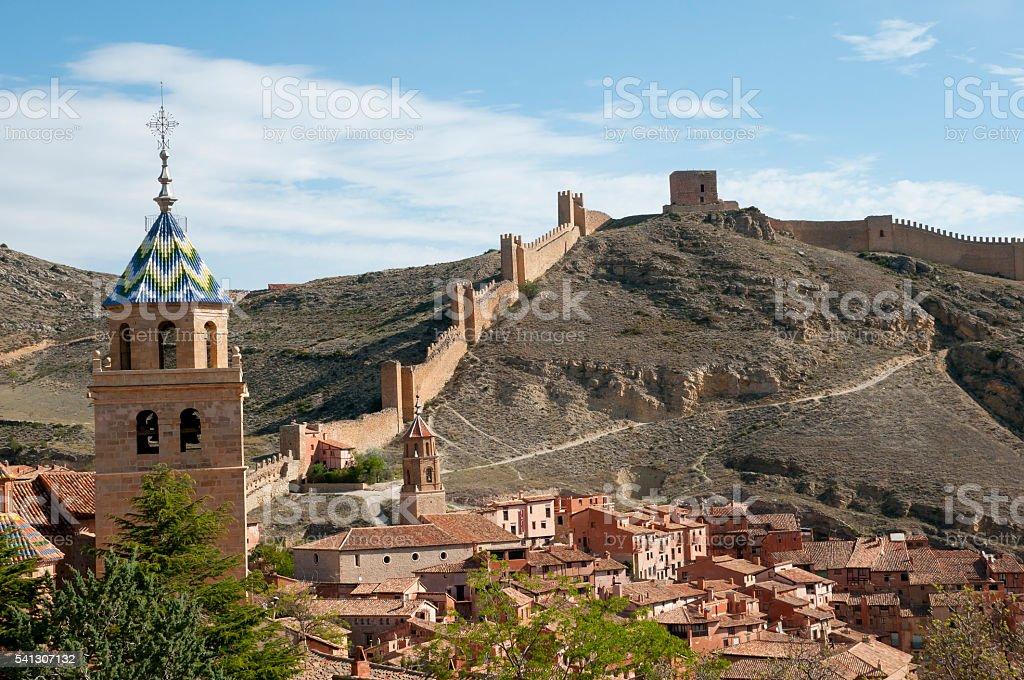 Albarracin - Spain stock photo