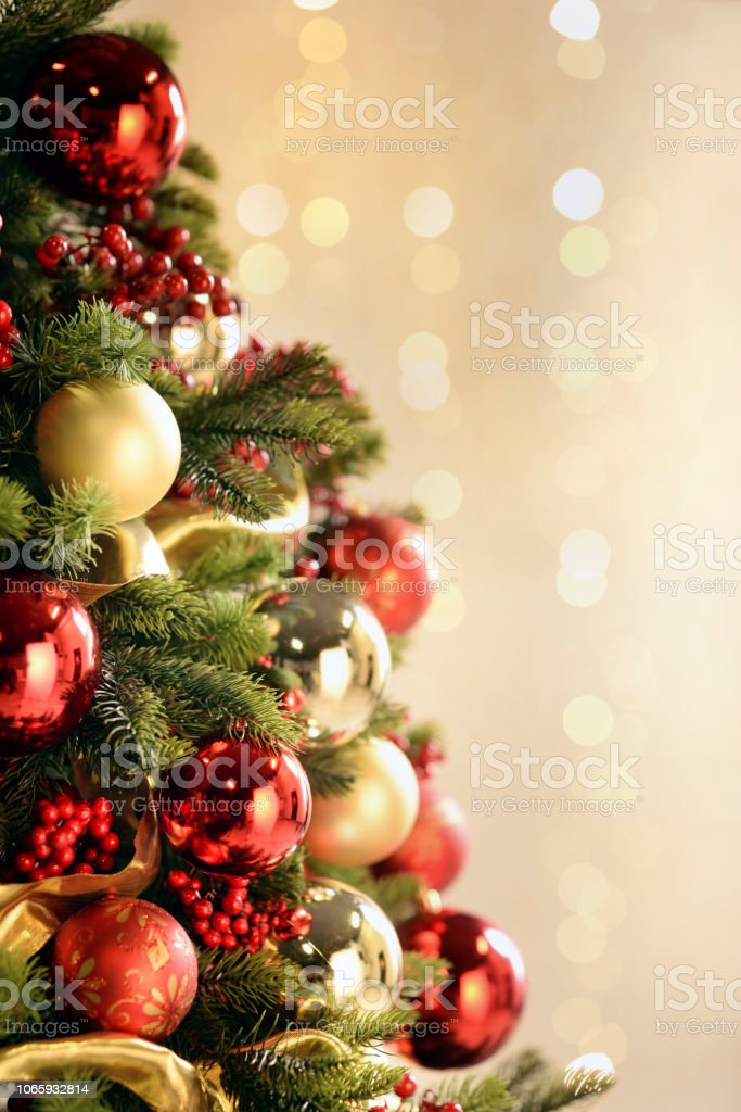 Alberi Di Natale Addobbati Foto.Albero Di Natale Addobbato Stock Photo Download Image Now