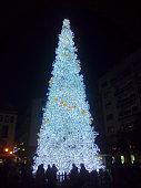 Albero Di Natale,salerno,sud Italia.