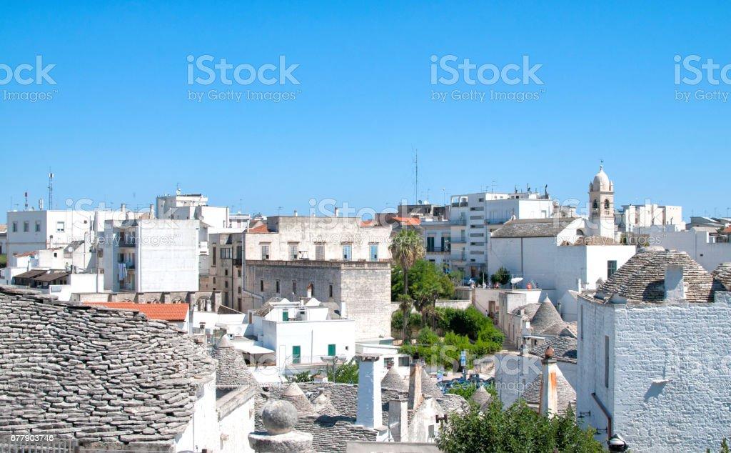 Alberobello, Puglia, Italy royalty-free stock photo