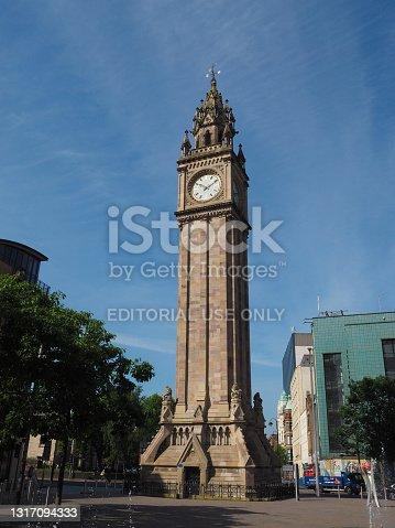 istock Albert Clock in Belfast 1317094333