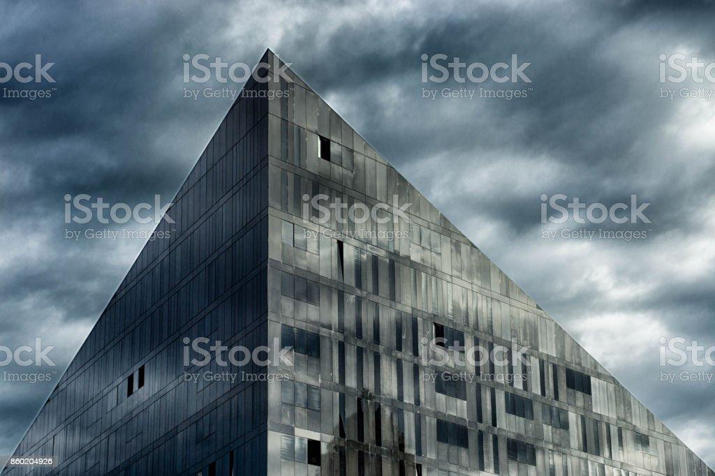 Albert dock buildings stock photo
