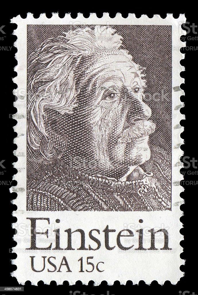 Albert Einstein Timbre - Photo