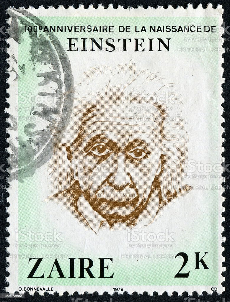 Albert Einstein Stamp – Foto