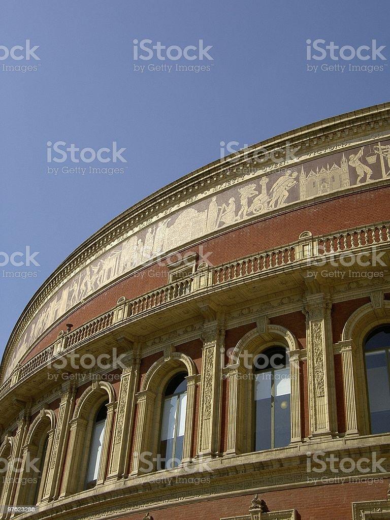 Albert Hall dans une journée ensoleillée photo libre de droits