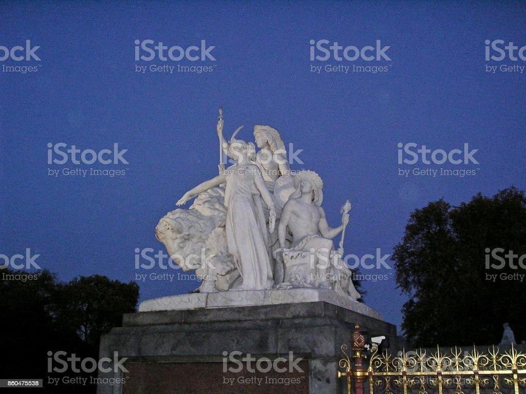 Albert Memorial - Americas stock photo
