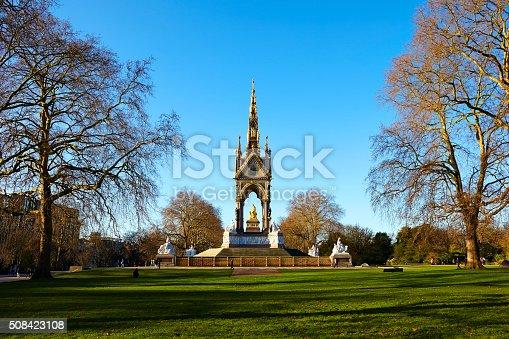 istock Albert Memorial And Kensington Gardens 508423108