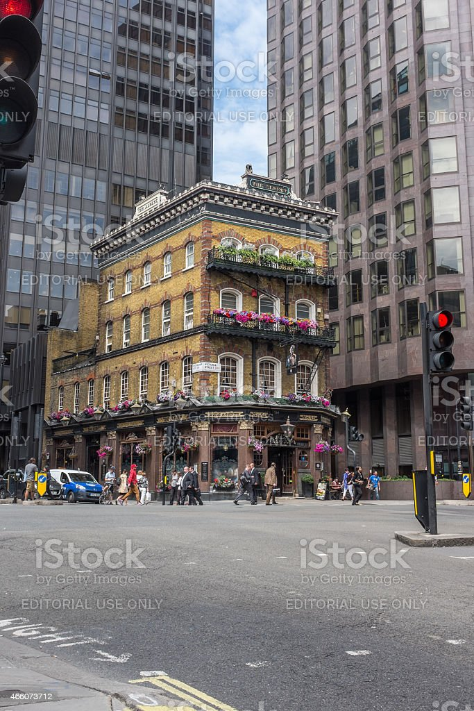 Albert Pub, Victoria, London stock photo