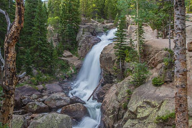 Alberta Falls stock photo