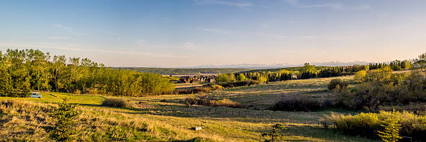Alberta terreni agricoli - foto stock