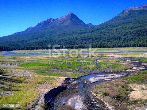 Alberta Landscape in Canada