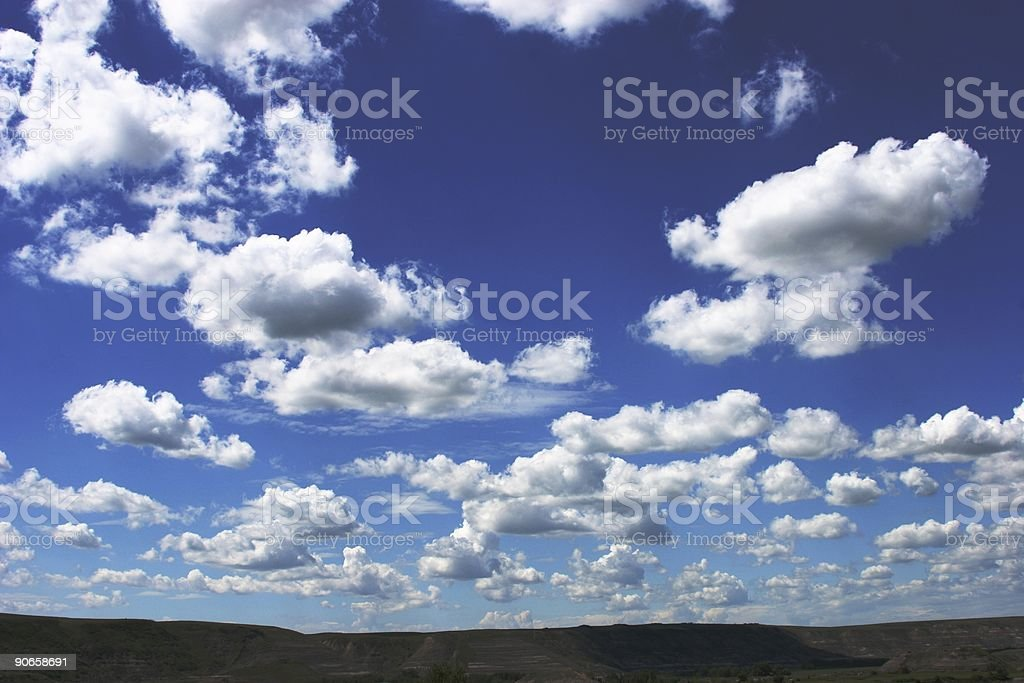 Alberta Sky 2 royalty-free stock photo