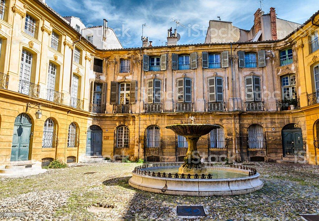 Alberta square-Aix-en-Provence - Photo
